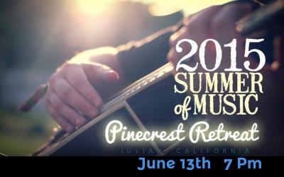 June 13th Pinecrest Retreat