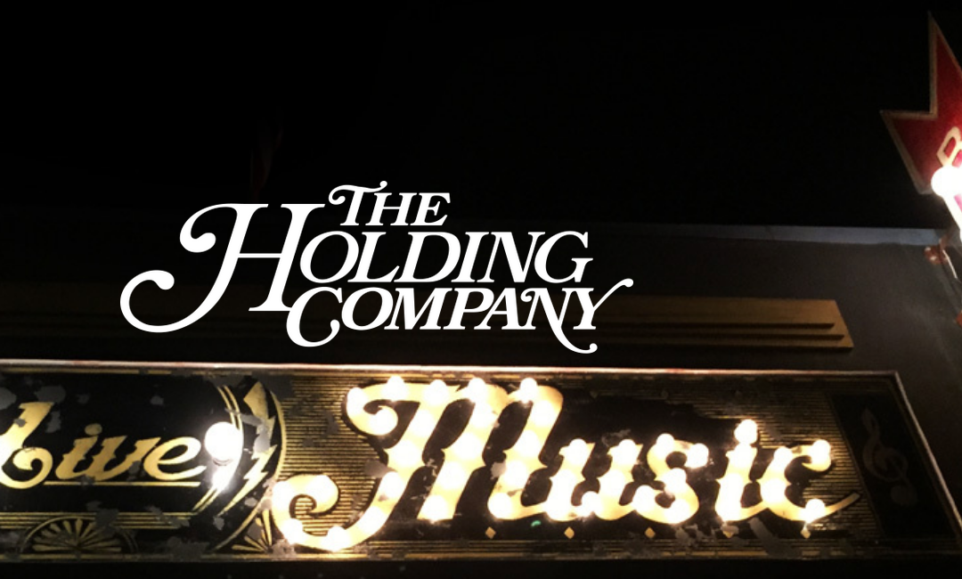 November 8, 9 PM, The Holding Company