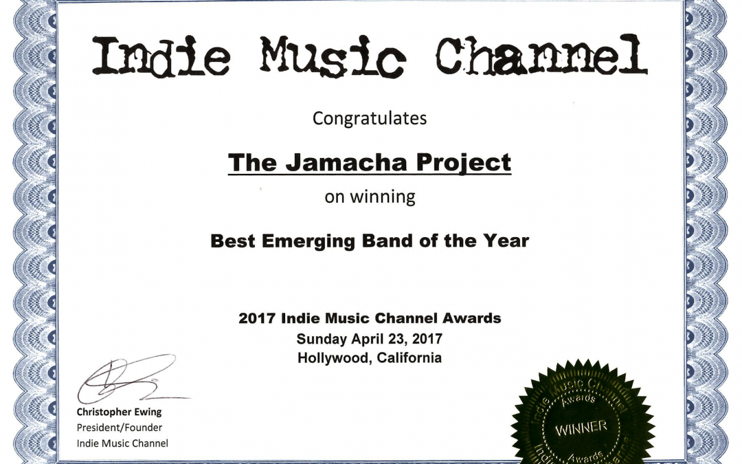IMC 017 Best Emerging Band of the Year