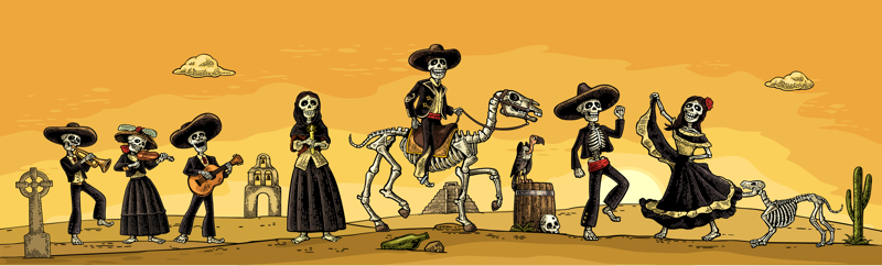 Friday, Nov 1, 2019, Day of the Dead at La Mesa Wine Works!