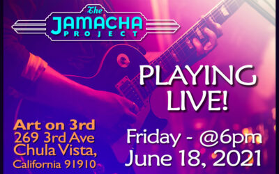 FRIDAY! June 18, 2021 Playing Live!